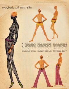 Fashion for the 70's  Rudi Gernreich Predictions from  Jan 1, 1970 Life Magazine