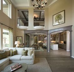 This Awesome Photo of 6 Fabulous Home Interior Design Ideas On A Budget is great for your idea. Many of our visitors choose this as favourite in Interior Design Category. Interior Balcony, Dream House Interior, Dream Home Design, Home Interior Design, My Dream Home, Beautiful Houses Interior, Living Room Grey, Living Rooms, House Goals