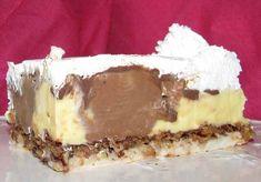 Kinder bueno ili Kinder torta ~ Recepti i Ideje Baking Recipes, Cake Recipes, Dessert Recipes, Torte Recepti, Croatian Recipes, Sweet Cakes, Let Them Eat Cake, No Bake Cake, Deserts