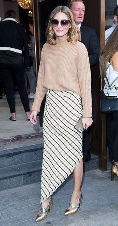 Olivia Palermo's £22 Topshop Jumper Is So Good We Want It in All 5 Colours via @WhoWhatWearUK