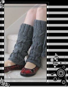 leg warmers I really want to make these! I need to get the pattern!