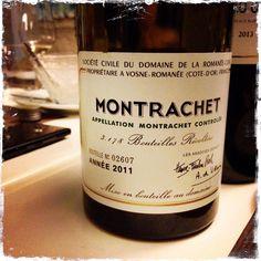 Montrachet 2011, Domaine La Romanee Conti, Bourgogne