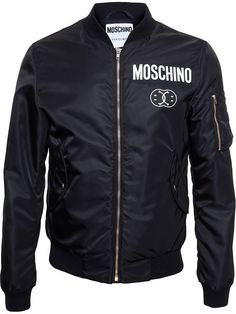 Shop Moschino Smiley Logo Bomber in Dante 5 Men from the world's best independent boutiques at farfetch.com. Over 1000 designers from 300 boutiques in one website.
