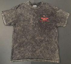 Hawaiian Lava Dyed T-shirt XL Flaming Turtle Volcano Big Island Heavyweight Tee  | eBay