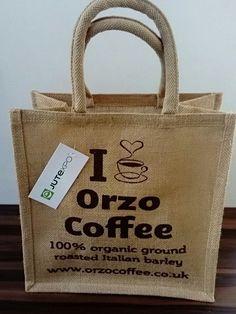OrzoCoffee Eco-friendly Jute Bag helping Cash for Kids Jute Bags, Eco Friendly, Reusable Tote Bags, Kids, Stuff To Buy, Children, Baby Boys, Child, Babys