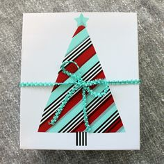 How to Make a Washi Tape Christmas Tree from Scotch® Brand: Child at Heart Blog