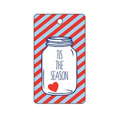 Tis the Season Jar Gift Tag from MyRecipes.com