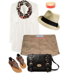 A fashion look from May 2013 featuring H&M blouses, Abercrombie & Fitch shorts and Forever 21 handbags. Browse and shop related looks.