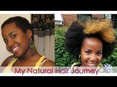 A Natural Hair Journey (4C) - Cheveux crépus: Mon parcours capillaire au...  so inspiring