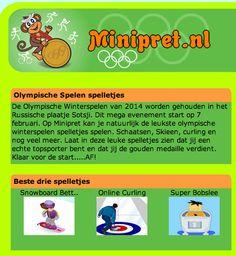 Olympische Winterspelen Spelletjes