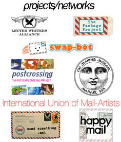 websites/blogs for snail mail enthusiasts.
