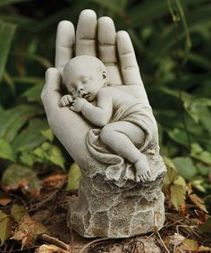 Roman In the Palm of His Hand Statue | zulily