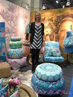 Quilt Market Spring 2012 - Cameo by Amy Butler coming in July