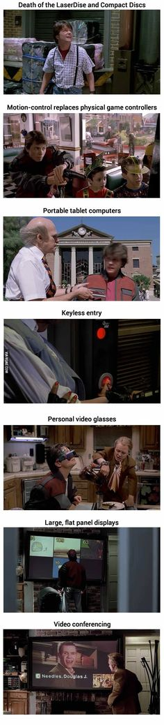 Things Back To The Future Part II Predicted Correctly
