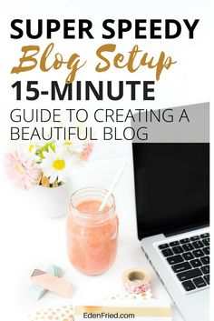 Quick blog setup guide for the new or aspiring blogger who isn't a techie and wants it done well and fast.