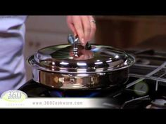 Skillet Baked Potatoes   Healthy Cooking with 360 Cookware - YouTube
