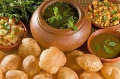 Gol Gappe or Paani Puri  #Indian #Street #Foods