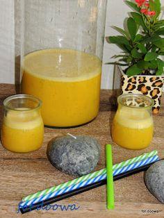 Moje Małe Czarowanie: Lemoniada z mango i pomarańczy
