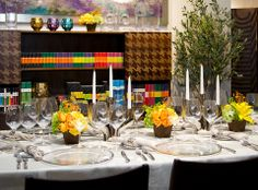 Montaje de #mesa por Casa Palacio, para el #Restaurante Porfirio's.