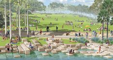Headland Park / Barangaroo Point | PWP Landscape Architecture