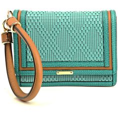 Give your outfit an eclectic-chic look with this Burberry Prorsum  Kingfisher bag. 482bc7c89f3