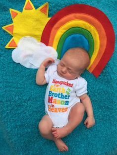 Pin for Later: These Are the Sweetest Rainbow Baby Photo Ideas You've Ever Seen