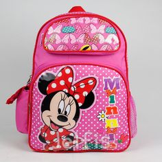 Jelfis.com - Disney Minnie Mouse 16' Backpack - Daisy Bows Large Girls Pink School Book Bag, $17.99 (http://www.jelfis.com/disney-minnie-mouse-16-backpack-daisy-bows-large-girls-pink-school-book-bag/)
