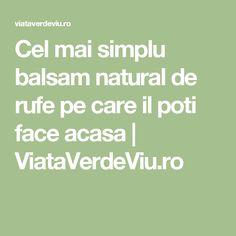 Cel mai simplu balsam natural de rufe pe care il poti face acasa   ViataVerdeViu.ro