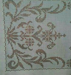 Tel kırma Cross Stitch Patterns, Diy Crafts, Embroidery, Cross Stitch, Flowers, Brogue Shoe, Needlepoint, Make Your Own, Homemade