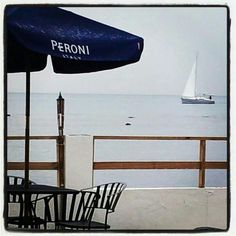 Beach view @ Asia Italy cuisine @ Parador Joyuda Beach