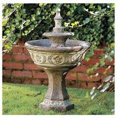 Amazon.com : BECKETT CORPORATION 7192310 Bronze Celtic Fountain : Free Standing Garden Fountains : Patio, Lawn & Garden