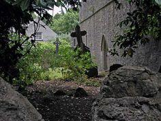 Graveyard at Malahide Castle