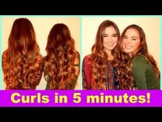 ▶ 5 Minute Curls With Nina And Randa! - YouTube