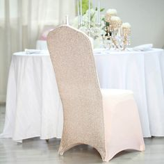 Banquet Chair Covers, Folding Chair Covers, Spring Wedding Decorations, Baby Shower Decorations, Reception Table Decorations, Wedding Ideas, Chic Wedding, Wedding Chairs, Wedding Seating