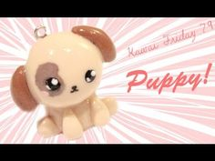 Cute Puppy Tutorial for Polymer Clay