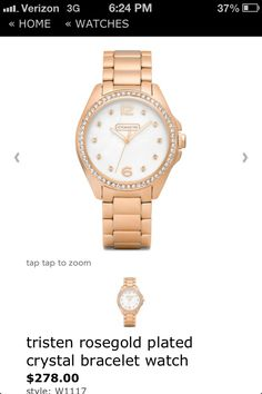 I think I'm obsessed with rose gold. So pretty!