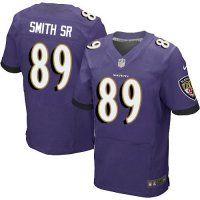#89 Steve Smith SR Baltimore Ravens Elite Jersey