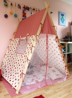 ber ideen zu kinder zelte auf pinterest spielzelte tipis und kinderspielzeug. Black Bedroom Furniture Sets. Home Design Ideas