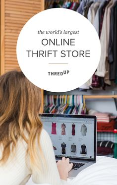 Shop thredUP the world's largest online thrift store! thredUP has something for everyone with over 25000 brands; Thrift Store Shopping, Online Thrift Store, Thrift Store Finds, Shopping Hacks, Thrift Stores, Online Shopping, Komplette Outfits, Fashion Outfits, Fashion Tips