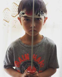 My little ninja boy.  #letsgetyoufree #kids #picoftheday #stayathomedad #entrepreneur #life #fam #8fm #familyfirst #lovemyfamily #ninjadad #ninja son