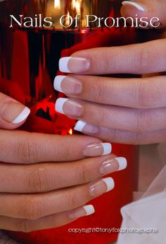 French Polish 1. Nails Of Promise http://youtu.be/Ea4rhxl-3o8