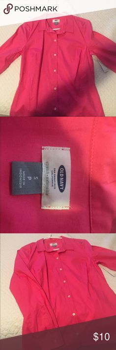 Old navy    Women's pink blouse Excellent condition Old Navy Tops Blouses