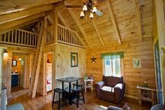 The graceful simplicity of Creekside by Coventry Log Homes is the perfect expression of rustic functionality, characterized by a bright and airy living space, the rich smell of aged wood, and an openness to the natural surroundings.