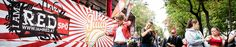 Streetparade in Vienna Ferris Wheel, Fair Grounds, Fun, Travel, Voyage, Viajes, Traveling, Trips, Tourism