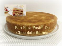 Pan Para Pastel De Chocolate Blanco Exquisita Receta