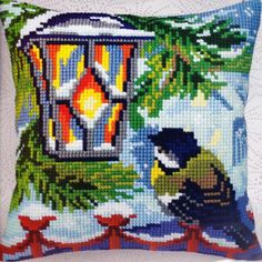 Collection D'Art Before Christmas II Cross Stitch Needlepoint 16