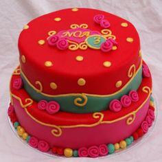 olily achtige pip studio achtige vrolijke meisjes taart
