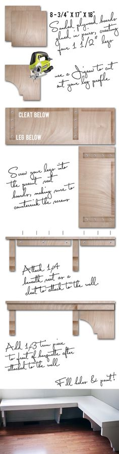 If I'm ever feeling extra crafty one day this is definitely happening! such a smart space saver | The Hunter Interior