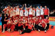 2011, European championships and bronze medalists from Poland #volleyball