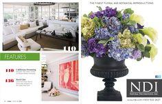March/April 2012 | Lonnymag.com.  Beautiful flower arrangement